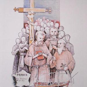 Bls. John Louis Loir and martyred companions.