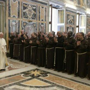 El encuentro con el Papa Francisco